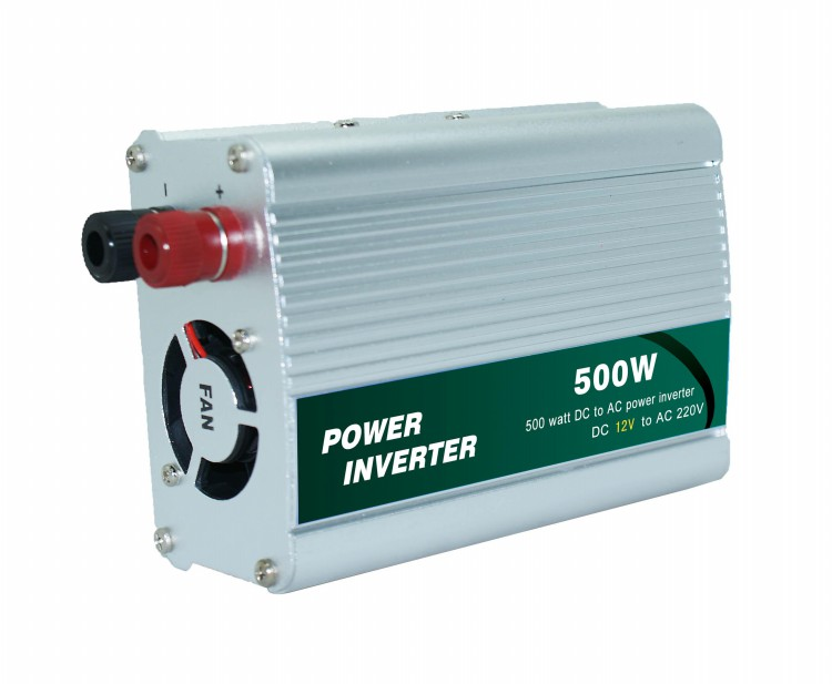 500W USB Car Power Inverter with external fuse