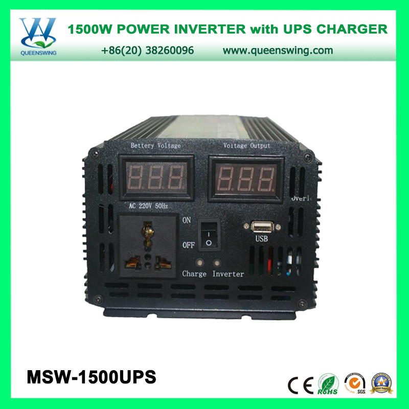 1500W DC to AC Inverter with UPS Charger & USB