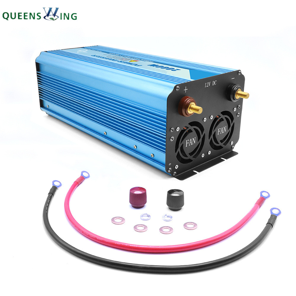 100% Full 2000W Pure Sine Wave Solar Power Inverter