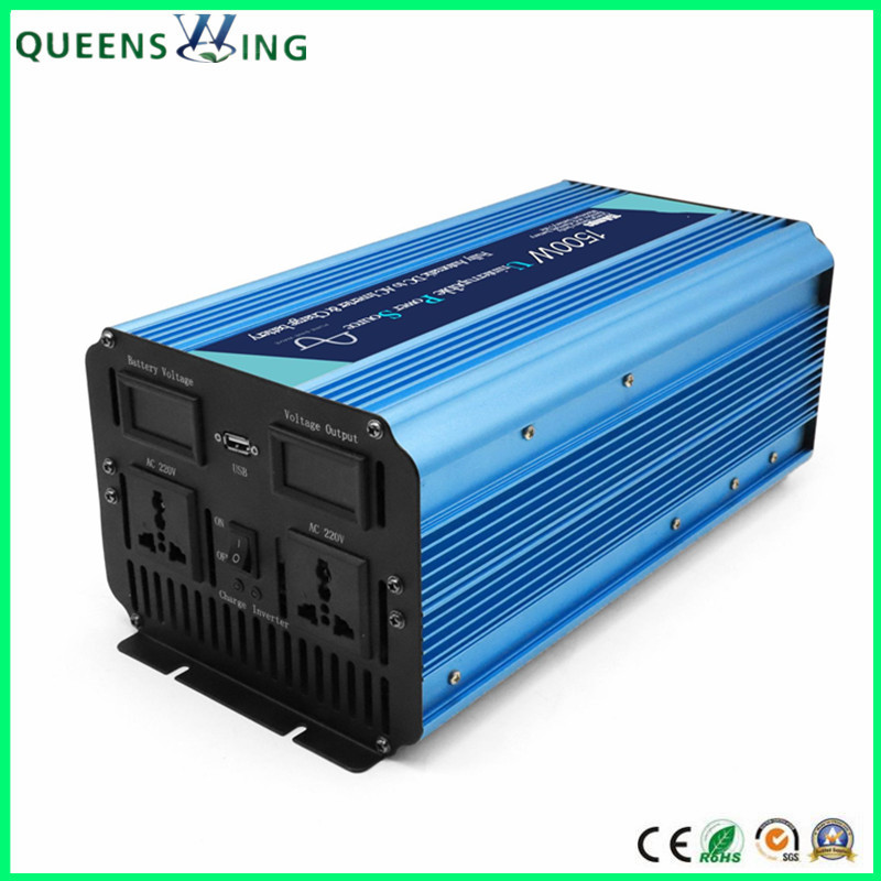 1500W DC to AC Pure Sine Wave UPS Inverter Converter