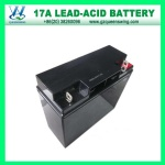 12V17ah Valve Regulated Lead-Acid Battery