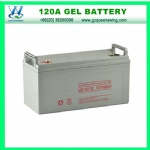 High Quality 12V120A Gel Battery for Solar Power System