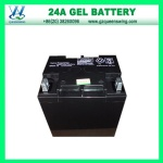 12V 24ah Solar Gel Battery